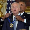 President Obama Awards Presidential Medal Of Freedom To Joe Biden