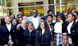 diddy-opens-charter-school-harlem-august-2016