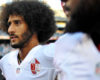 Sep 1, 2016; San Diego, CA, USA;  San Francisco 49ers quarterback Colin Kaepernick (7) before the game against the San Diego Chargers at Qualcomm Stadium. Mandatory Credit: Jake Roth-USA TODAY Sports