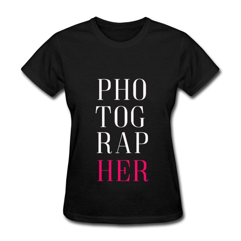 photographer-women-s-t-shirt