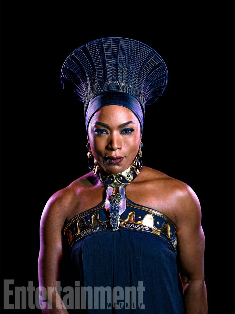 Marvel Studios BLACK PANTHER Ramonda (Angela Bassett) Credit: Kwaku Alston/©Marvel Studios 2018
