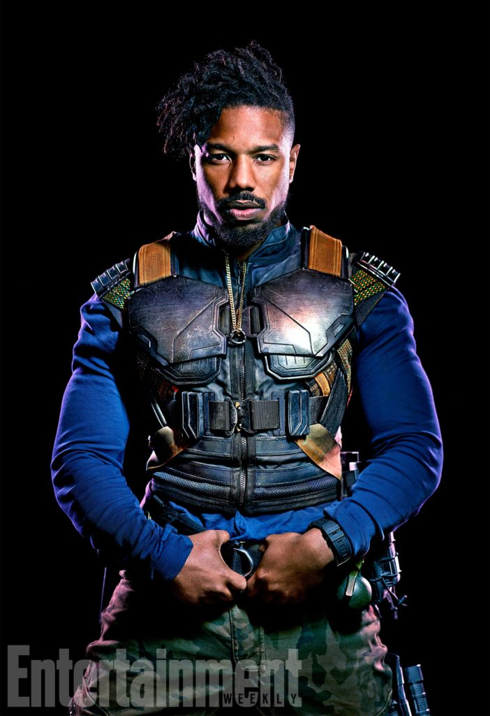 Marvel Studios BLACK PANTHER Erik Killmonger (Michael B. Jordan) Credit: Kwaku Alston/©Marvel Studios 2018