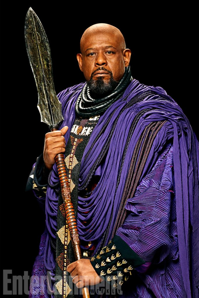 Marvel Studios BLACK PANTHER Zuri (Forest Whitaker) Credit: Kwaku Alston/©Marvel Studios 2018