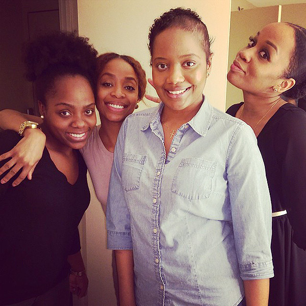 Photo: The sisters - Meechy, Alex, Vaughn and Kay