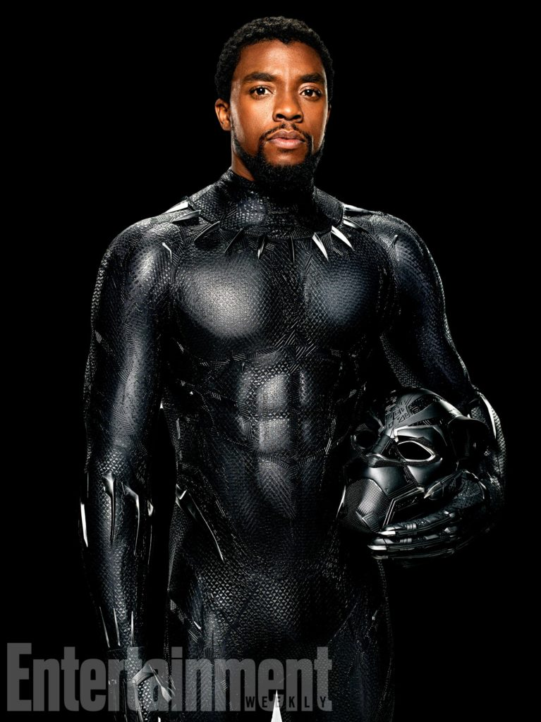 Marvel Studios BLACK PANTHER T'Challa/Black Panther (Chadwick Boseman) Special Credit: Kwaku Alston/©Marvel Studios 2018