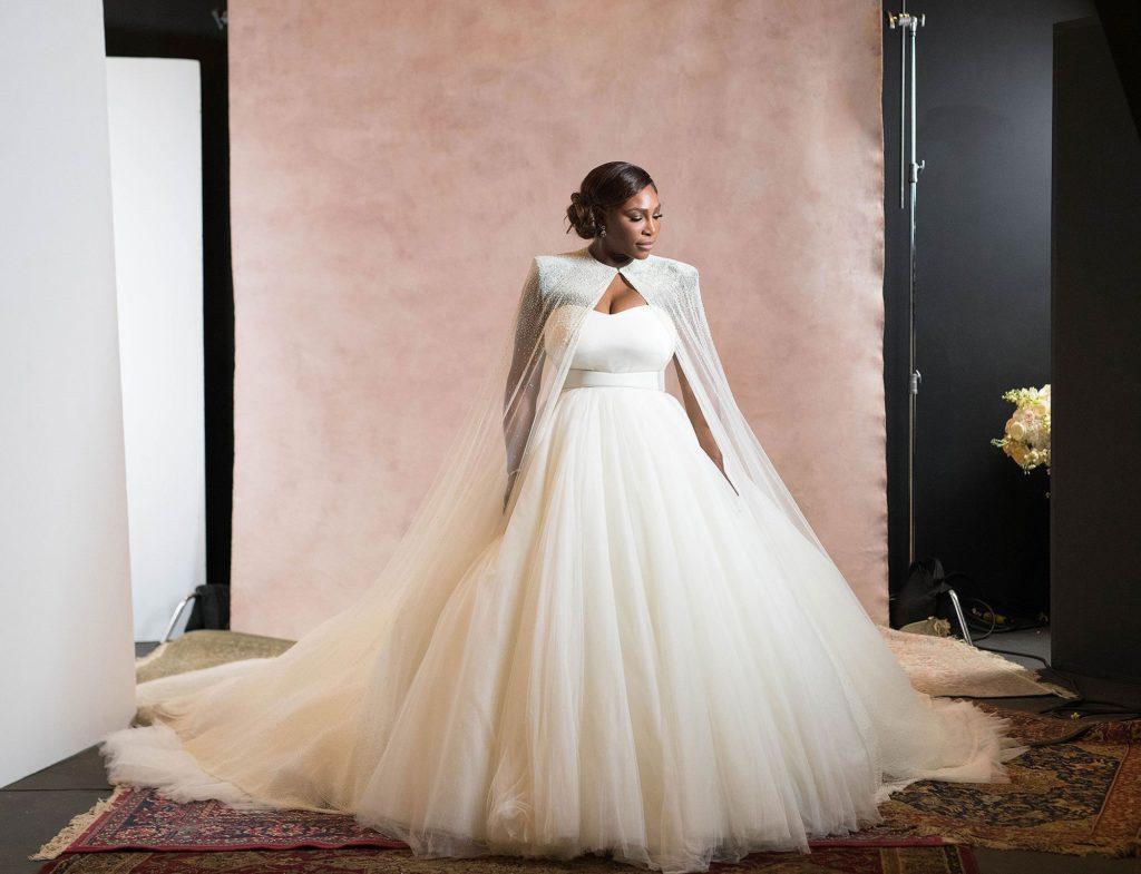 Serena Williams wedding Credit: Bob Metelus and Erica Rodriguez//Vogue Magazine